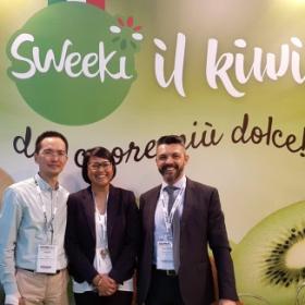 Sweeki 猕猴桃参加 Macfrut 2017展