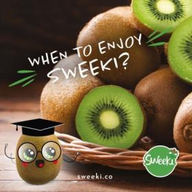 When to enjoy Sweeki®?