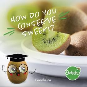 How do you conserve Sweeki®?