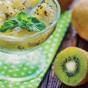 绿色猕猴桃加姜果酱